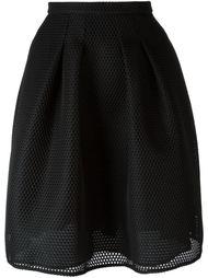 сетчатая юбка  Burberry