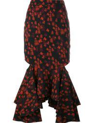 юбка с баской Givenchy