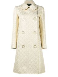 жаккардовое пальто на пуговицах в виде цветов Simone Rocha