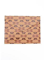 abstract print clutch bag Sarah Chofakian