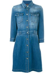 джинсовое платье-рубашка  7 For All Mankind
