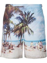 плавательные шорты с принтом пляжа Orlebar Brown