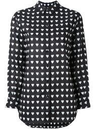 рубашка с принтом сердец Burberry