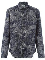 рубашка с абстрактным принтом  Kenzo