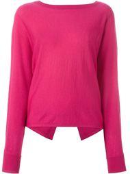 свитер с открытой спиной Vanessa Bruno