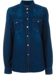 джинсовая рубашка в стиле вестерн 7 For All Mankind