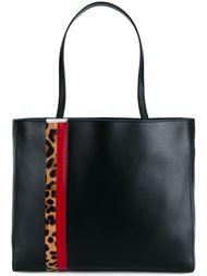 сумка-тоут с контрастными полосками Tomasini