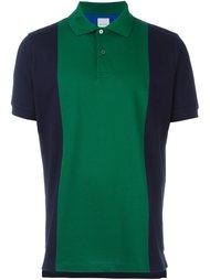 футболка-поло в стиле колор-блок  Paul Smith