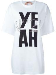 футболка с принтом 'yeah' Nº21