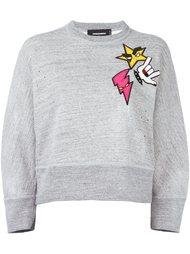 свитер с нашивкой 'Dean'  Dsquared2