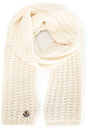 шарф крупной вязки Moncler