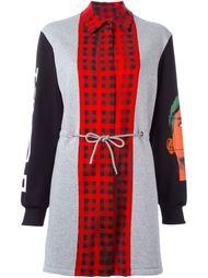 платье с панельным дизайном  Moschino