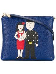 сумка через плечо с заплаткой 'Family' Dolce & Gabbana