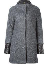 пальто с двухслойными рукавами Herno