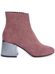 ботинки на контрастном каблуке Mm6 Maison Margiela