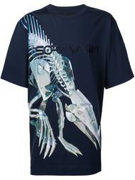 robot print T-shirt Juun.J