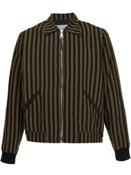 куртка-бомбер в полоску Second/Layer