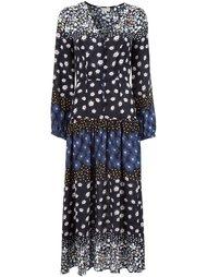 длинное платье с цветочным принтом Suno