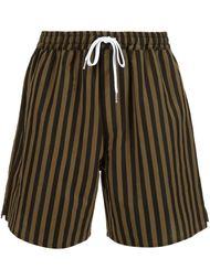 шорты в полоску Second/Layer