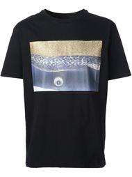 футболка с абстрактным принтом Palm Angels