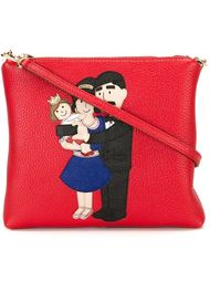 сумка через плечо с нашивкой Dolce & Gabbana