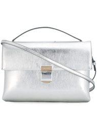 сумка через плечо с металлическим отблеском  Giorgio Armani
