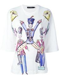 футболка с принтом игрушек Dolce & Gabbana