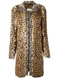 пальто с контрастным принтом  Maison Margiela