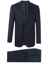 pinstripe formal suit Corneliani