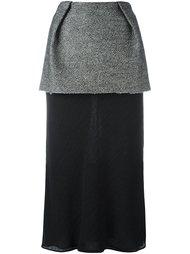 многослойная юбка  Maison Margiela