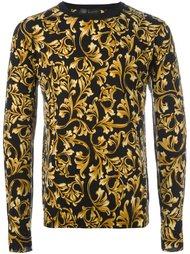 свитер с принтом 'Barocco' Versace