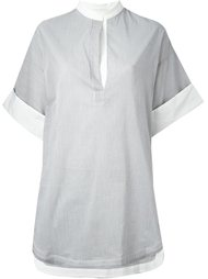 блузка в стиле кимоно 3.1 Phillip Lim