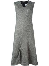 платье с плиссировкой  Maison Margiela