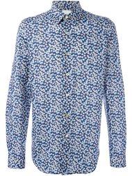 приталенная рубашка  Paul Smith