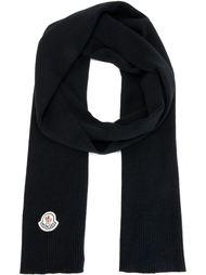 трикотажный шарф ребристой вязки Moncler