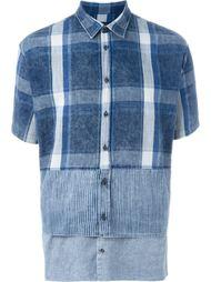 лоскутная рубашка  Dsquared2