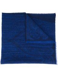 шарф с необработанными краями   Etro