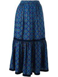 расклешенная юбка  Yves Saint Laurent Vintage