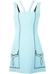 платье с контрастной окантовкой  Fausto Puglisi