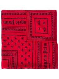 шарф с логотипом  Palm Angels