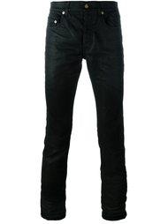 вощеные джинсы прямого кроя  Saint Laurent