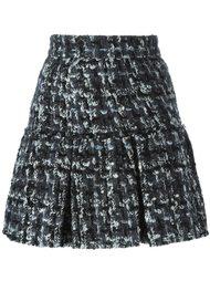 буклированная юбка мини  Dolce & Gabbana