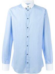 рубашка с контрастной отделкой Dolce & Gabbana