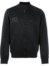 куртка-бомбер с вышивкой  Diesel
