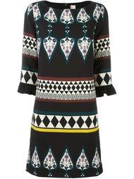 платье с геометрическим принтом Antonio Marras