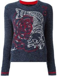 свитер в рубчик  Diesel