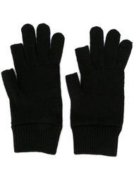 вязаные перчатки Rick Owens