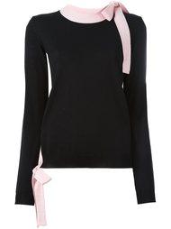 свитер с бантом  MSGM