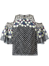 блузка с открытыми плечами Peter Pilotto