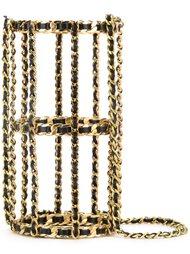 сумка-клетка на плечо Chanel Vintage
